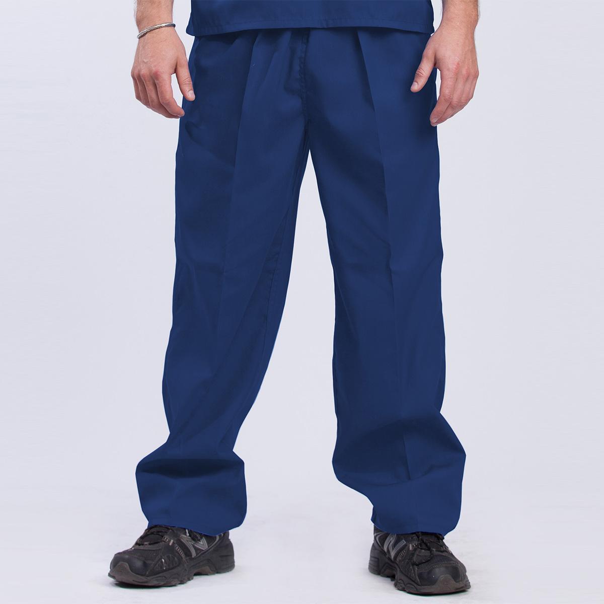 Reversible-Scrub-Mens-Pants-royal-front