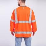 Class-III-Shirt-Long-Sleeve-Performance-Fabric-orange-back
