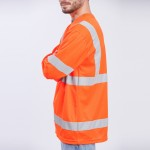 Class-III-Shirt-Long-Sleeve-Performance-Fabric-orange-side