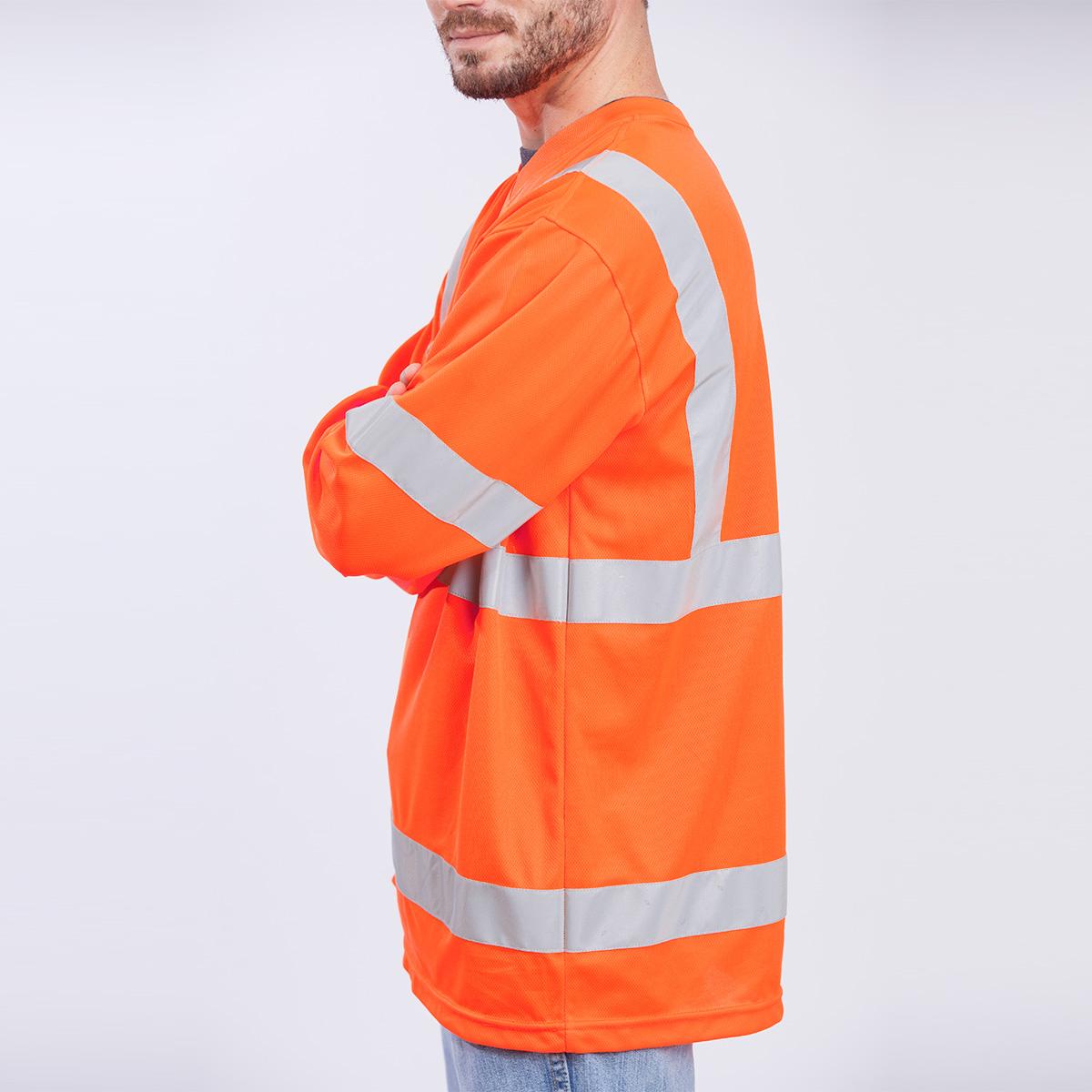 Edgar James Apparel Safety Class Iii Shirt Long Sleeve