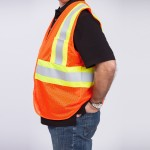 Classic-Class-II-Safety-Vest-orange-side