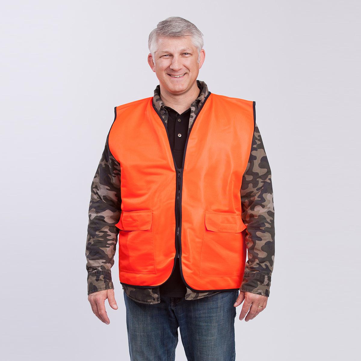 Hunting-Vest-HV-orange-front