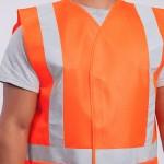 Standard-Class-II-Vest-Solid-orange-close-up