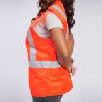 Standard-Class-II-Vest-Solid-orange-side