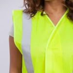 Standard-Class-II-Vest-standard-mesh-yellow-close-up