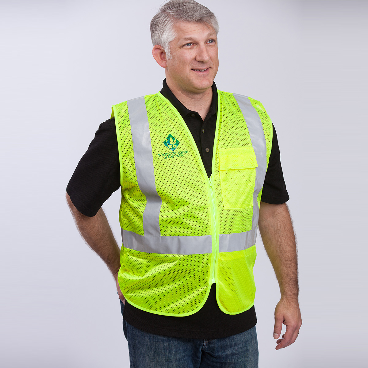 Utility-Class-II-Safety-Vest-yellow-front