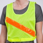 safety-bicycle-vest-yellow-front
