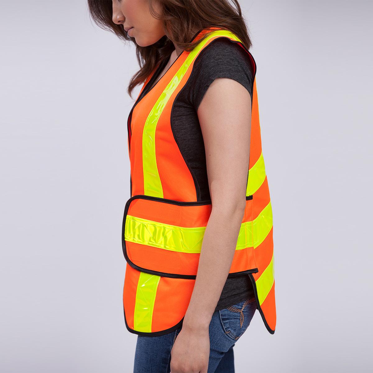 Chevron High Visibility Vest Edgar James Apparel