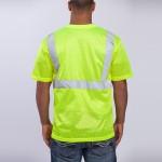 class-II-shirt-short-sleeve-standard-mesh-yellow-back