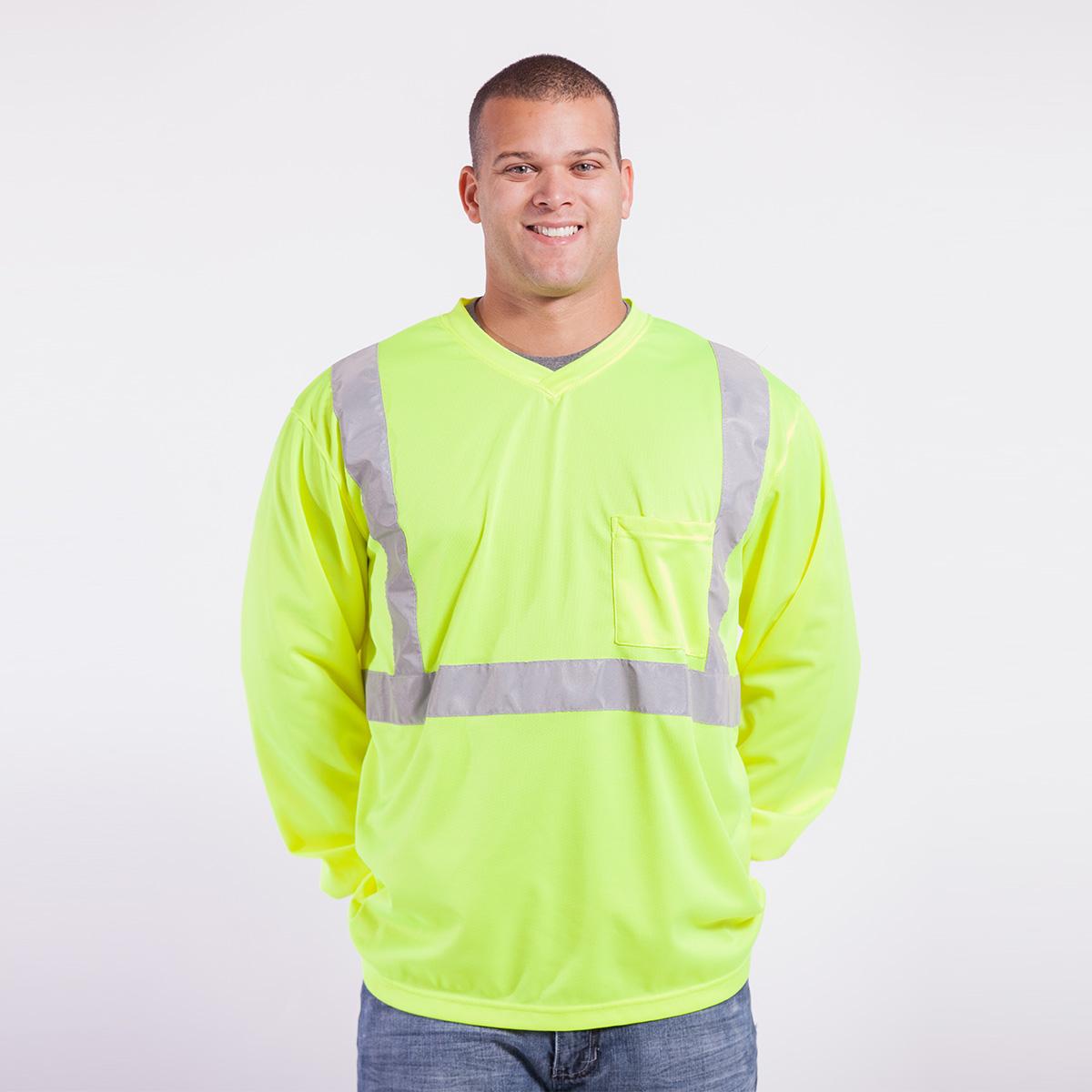 Class-ii-Shirt-Long-Sleeve-Performance-Fabric-yellow-front